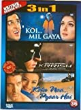 Koi Mil Gaya / Krrish / Kaho Naa Pyaar Hai (3 in 1 DVD Without Subtittle)