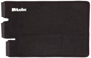 Mueller Adjustable Calf/Shin Splint Support, Wraparound design, Black - Large 11' - 20'