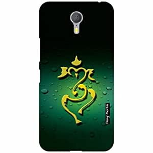 Design Worlds Lenovo ZUK Z1 Back Cover - Ganesha Designer Case and Covers