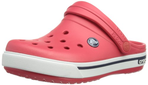 Crocs Unisex-Child Crocband II.5 Clogs 12837-639-115 Red/Navy 9 UK Child, 26 EU, 9 US Child