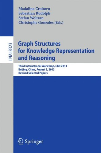 Graph Structures For Knowledge Representation And Reasoning: Third International Workshop, Gkr 2013, Beijing, China, August 3, 2013. Revised Selected ... / Lecture Notes In Artificial Intelligence)