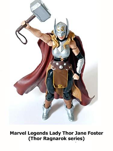 Clip: Marvel Legends Lady Thor Jane Foster (Thor Ragnarok series)