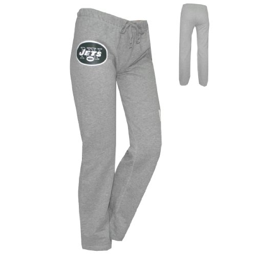 WOMENS Pink Victoria's Secret NFL New York Jets Cotton Sleepwear / Pajama Pants - Grey (Size: M) at Amazon.com