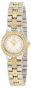 Invicta Womens 0127 Wildflower Collection Crystal Accented
