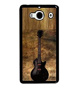 Fuson Premium 2D Back Case Cover Stylish Guitar With yellow Background Degined For Xiaomi Redmi 2S::Xiaomi Redmi 2::Xiaomi Redmi 2 Prime