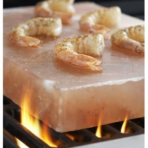 New Himalayan Crystal Salt Tile 8x8x2 for Grilling on BBQ imported by Pure Salt