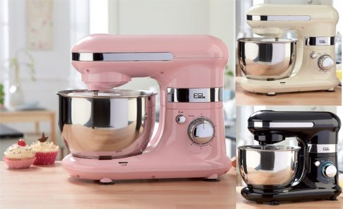 Pink EGL Mixer With Bowl & Attachments