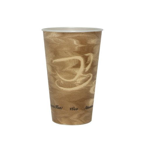 SOLO X16N-0029 Trophy Plus Polystyrene Foam Hot and Cold Cup, 16 oz. Capacity, Mistique (Case of 750)