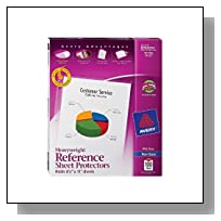 Avery Top Loading Non-Glare Poly Sheet Protectors 100 Count (74102)