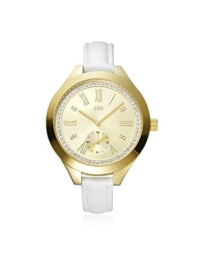 JBW Women's J6309A Aria White Leather Watch