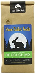 Moon Rabbit Gluten Free Pastry Pie Crust Mix, 16.4-Ounce