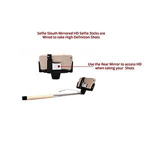 selfie stick by selfie sleuth high definition mirrored selfie kit works seamlessly. Black Bedroom Furniture Sets. Home Design Ideas