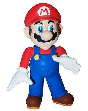 Super Mario Brothers Master Replicas 5 inch PVC Figure Series 1 Mario