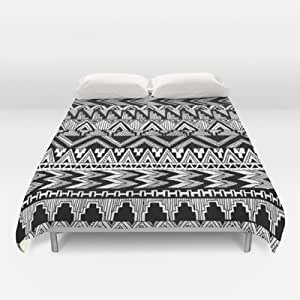 Amazon.com - Tribal Black And White Aztec Pattern Duvet Cover by