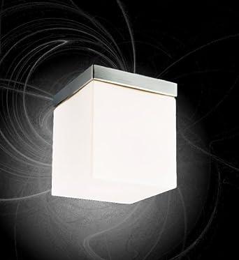 Kristall Einbauleuchten Set Würfel Glas Einbaustrahler Quadrat Downlighter  13