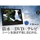 限定仕様 黒の12型フルセグ防水DVD FLHチューナー搭載