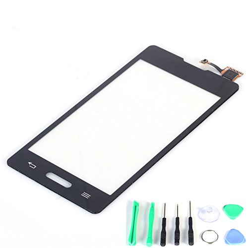 Generic Touch Screen Digitizer Replacement (Lcd Display Not Included) For Lg Optimus L5 2 Ii E450 (Black)