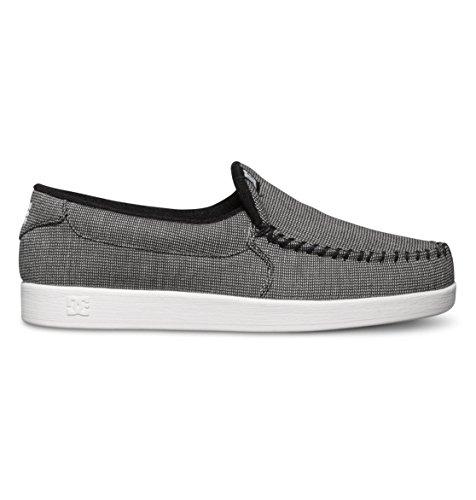pictures of DC Men's Villain TX Skate Shoe, Black/Black/White, 12 M US