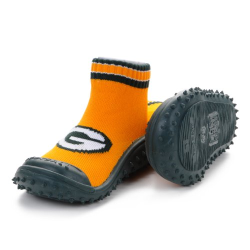 Green Bay Packers Skid-Proof Shoes (18 Months) at Amazon.com