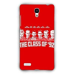 EYP Manchester United Giggs Beckham Scholes Back Cover Case for Xiaomi Redmi Note 4G