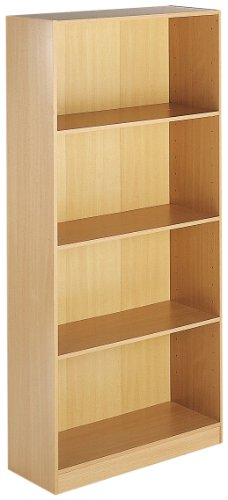 Windsor Bookcases - Tall Bookcase - Beech (TBCB) H1620xW756xD306 - Beech