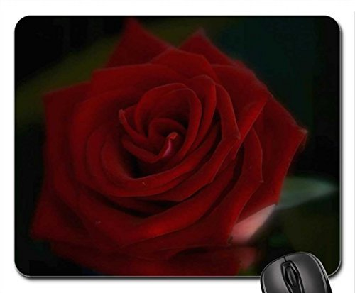 Dark Rose Mouse Pad, Mousepad (Flowers Mouse Pad)