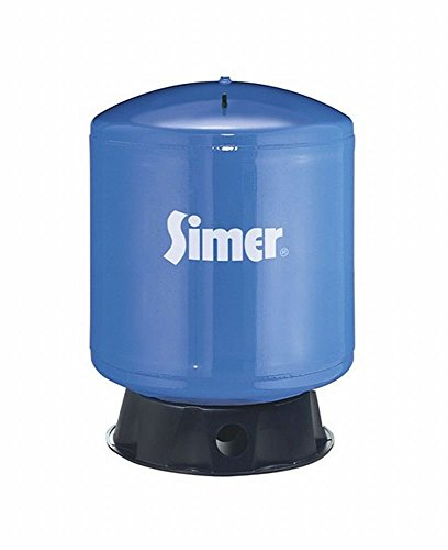 Pentair Water-Flotec-Simer VT36 35 Gallon Vertical Pre-Charged Bladder Tank, Blue (35 Gallon Water Tank compare prices)