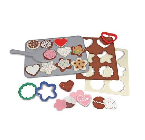Melissa & Doug Felt Food - Cookie Decorating