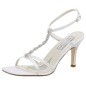 Endless.com: Touch Ups Women's Lily Dyeable Sandal: Bridal - Free Overnight Shipping & Return Shipping