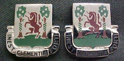 61st Medical Battalion Distinctive Unit Insignia - Pair