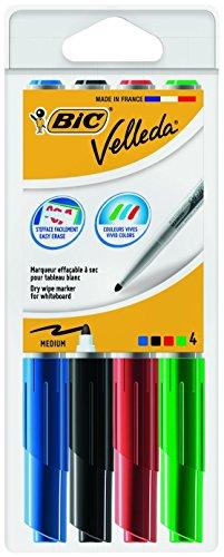 bic-velleda-1741-marcatore-cancellabile-per-lavagna-confezione-4-marcatori-cancellabili-colori-assor