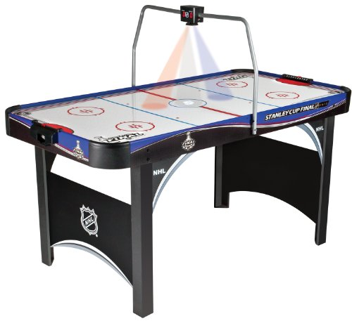 "Review Of Regent NHL #50433 Lights and Sound 66"" Hockey Table with New Electronic Scoring"