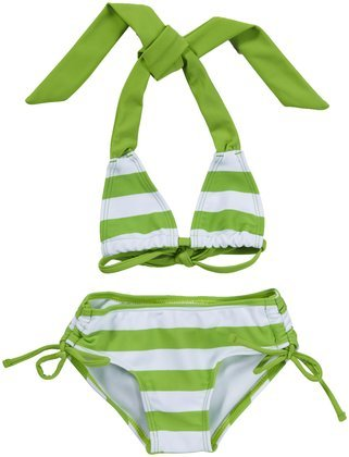 Kanu Surf Baby Girls' Venice 2 Piece Suit Green 24 Months