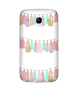 Tassels Back Cover Case for Samsung Galaxy Core I8260