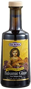 Gia Russa Balsamic Glaze, 8.5-Ounce Glass Bottles (Pack of 3)