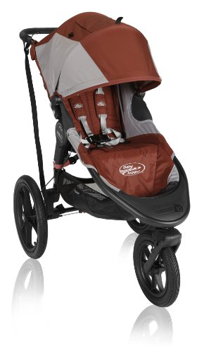 Baby Jogger Summit X3 Single Stroller, Orange (Discontinued By Manufacturer) front-1069598