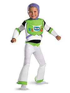 Buzz Lightyear Boy's Deluxe Toy Story Costume