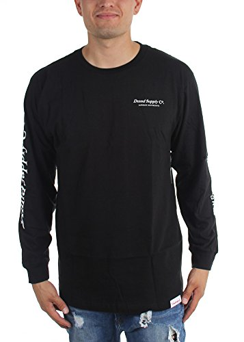 Diamond Supply Co. - Mens Dmnd Supply Longsleeve Shirt, Size: Large, Color: BLACK (Dmnd Supply Co Clothing compare prices)