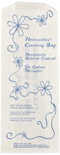 Necessities® Feminine Hygiene Courtesy Disposal Bag (Case of 500), Hospeco® NEC-500