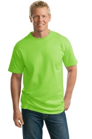 Port & Company Tall 100% Cotton Essential Tshirt Pc61T,Large Tall,Lime