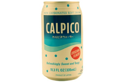 Calpis Calpico Carbonated Soft Drink (Original Flavor) - 11.3 floz (12 units)