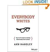 Ann Handley (Author)  (13) Publication Date: September 15, 2014   Buy new:  $25.00  $15.81  36 used & new from $14.12