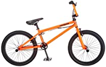 Mongoose Data X2.0 Bicycle, Orange, 20-Inch