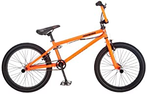 Mongoose Data X2.0 Bicycle, Orange, 20-Inch by Mongoose