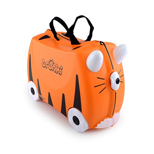 Trunki The Original Ride On Suitcase New Tipu, Orange