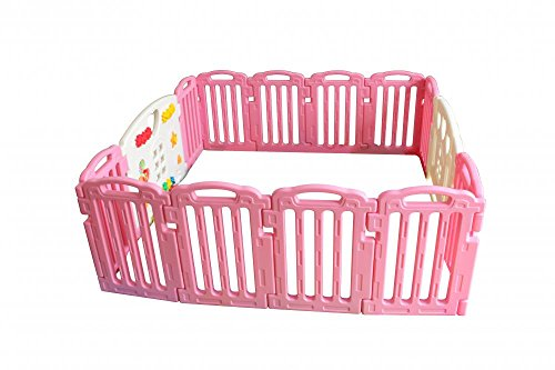 Best Buy! Baby Playpen Kids 14 Panel Safety Play Center Yard Home Indoor Outdoor Pen