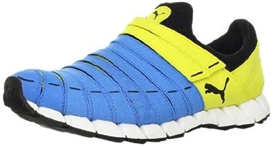 PUMA Men's OSU Canvas Running Shoe,Malibu Blue/Blazing Yellow/Black,7 D US