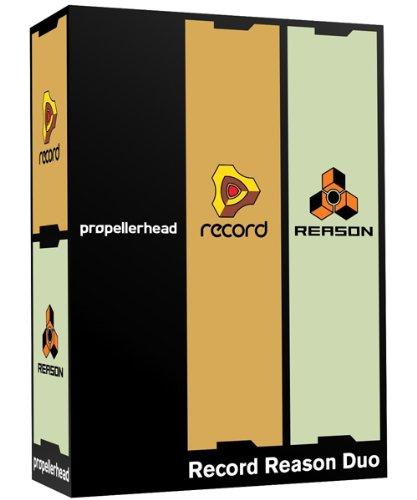 Propellerhead's Record and Reason 5 Software Av   Reason Studios