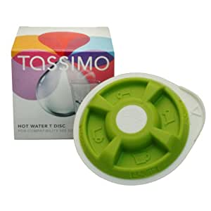 TASSIMO HOT WATER T DISC (T20, T40, T42, T65 T85 OR VIVY)