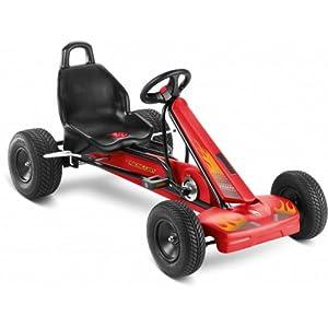 Puky kettcar F1 L black/red